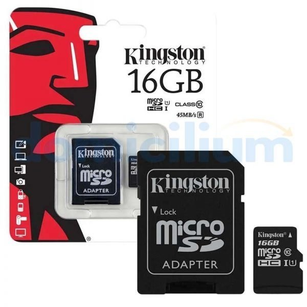 Tarjeta de memoria 16GB