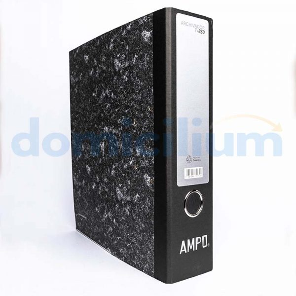 Archivador AMPO carta T-830 plus sin división