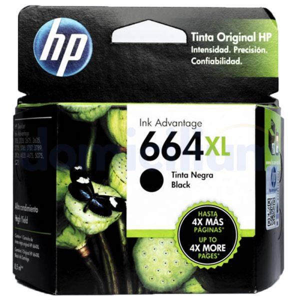 HP 664 XL Negro