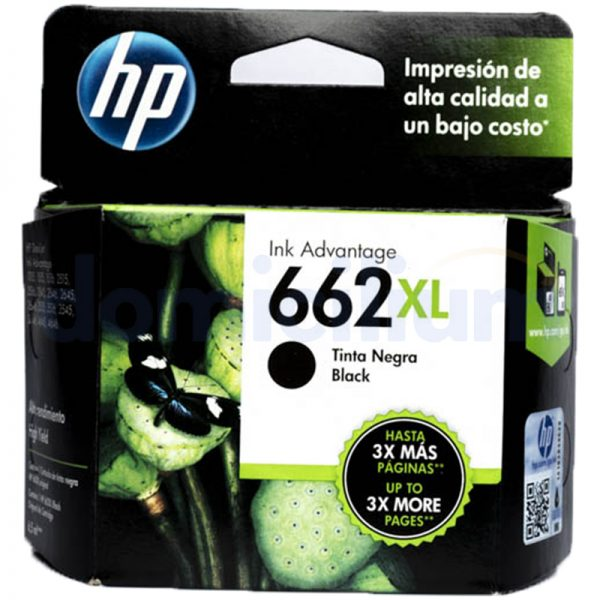 HP 662 XL Negra