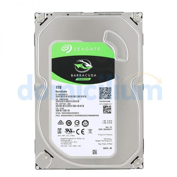 Disco duro 1 TB Seagate Barracuda ST1000DM010