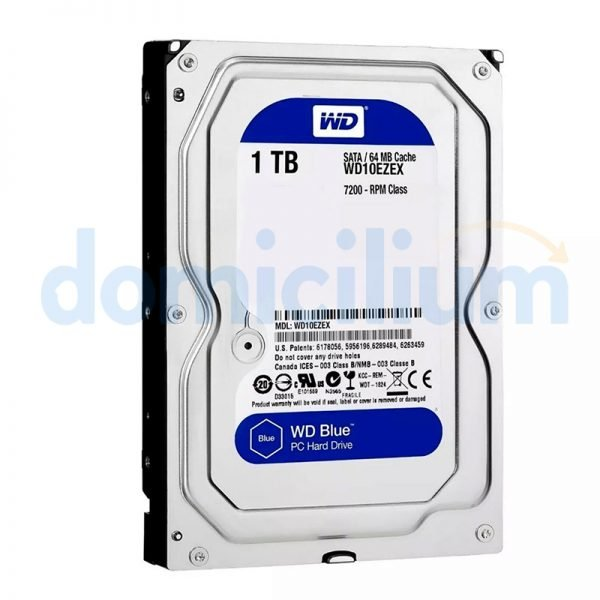 Disco duro de 1TB Western Digital Blue WD10EZEX