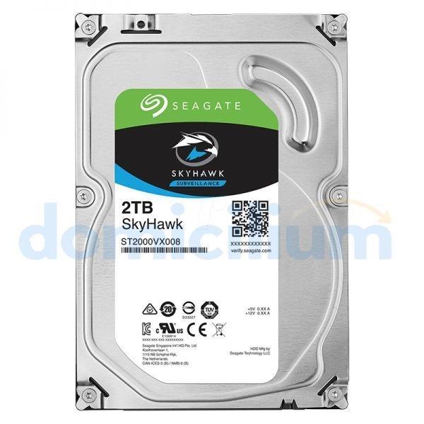 Disco duro 2TB Seagate SkyHawk Surveillance HDD