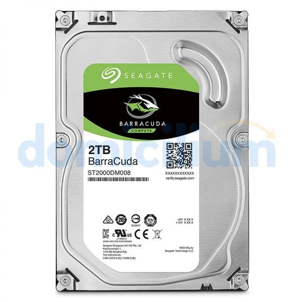 Disco duro 2 TB Barracuda ST2000DM008