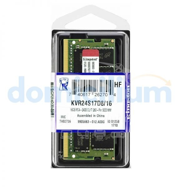 Memoria Kingston ValueRAM DDR4 16GB
