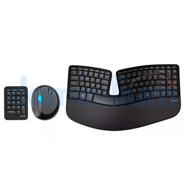 Microsoft Kit ergonómico: Teclados y mouse inalámbrico