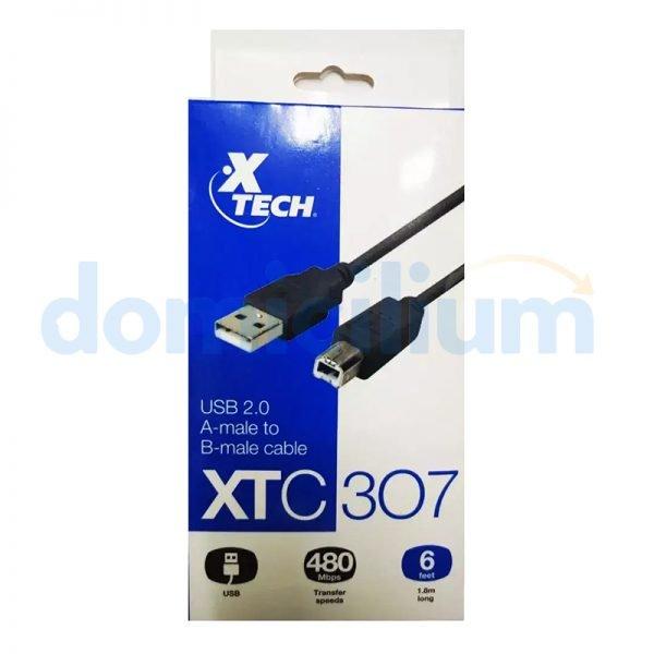 XTech Cable USB para impresora