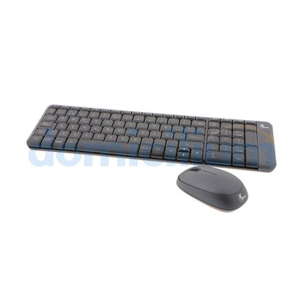 Xtech XTK-310S Kit Teclado y Mouse Inalambrico
